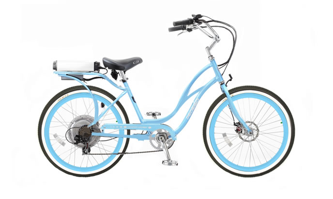 Pedego Step Thru Comfort Cruiser